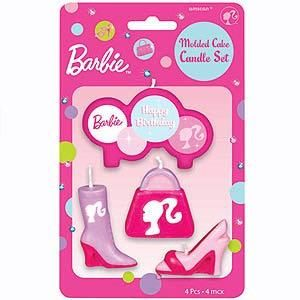 Party Time Celebrations  - Barbie Party Candle Set, $9.95 (http://www.partytimecelebrations.com.au/barbie-party-candle-set/)