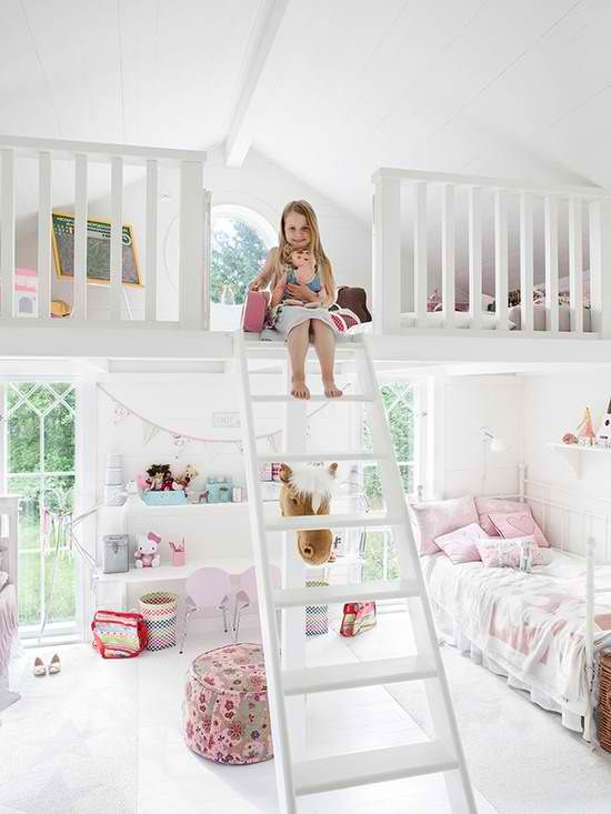 girls room ideas and designs  #KBHomes