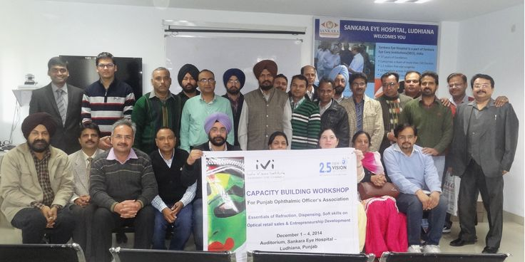 IVI-NVG organise Capacity Building Workshop for National #Ophthalmic Association. #India #Vision #Optometry