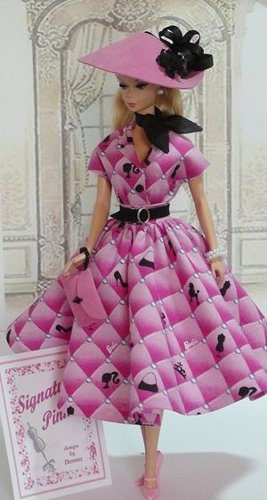 Barbie in Pink Poodle skirt!