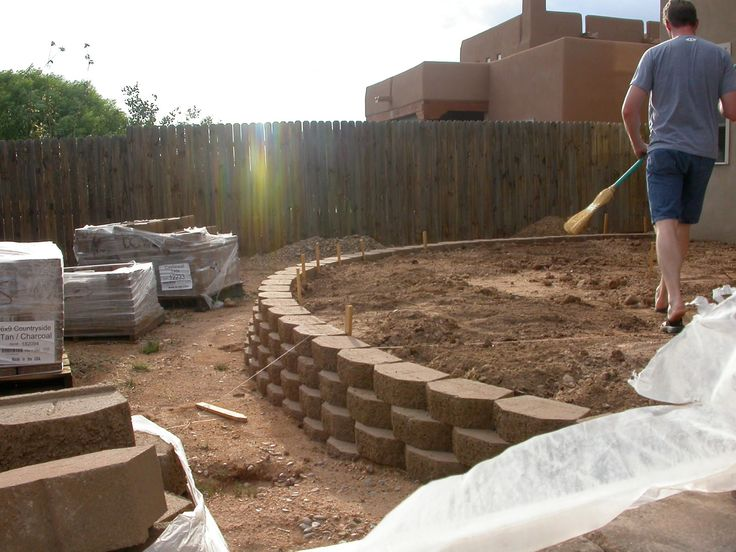 best 25 small retaining wall ideas on pinterest diy exterior wall backyard retaining walls. Black Bedroom Furniture Sets. Home Design Ideas