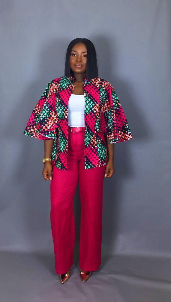 acheter en ligne 4c0df 2d1d9 NOUVEAU vêtement imprimé IN:African capelet imprimé africain ...