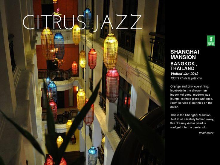 my photo // writeup of the Shanghai Mansion boutique hotel, Bangkok, Thailand @ http://triptea.se/x7mkk
