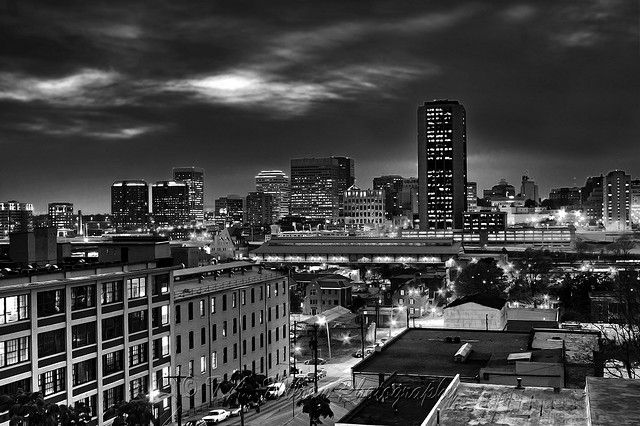 City of richmond virginia art print by tim wilson