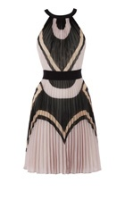 Deco print dress #vcukwearyourwardrobe: Prints Dresses, Millen Deco, Karen O'Neil, Fashion Style, Deco Prints, Pleated Dresses, Outfits Style, Karen Millen, Fantasy Shopper