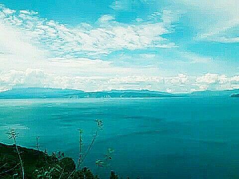 Lake Toba ( Danau Toba ), Sumatra Utara, Indonesia