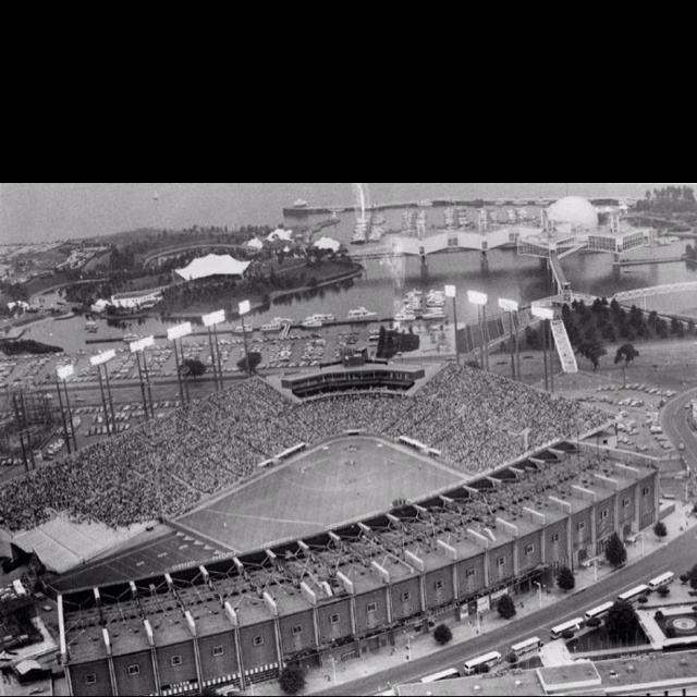 Toronto Exihibtion Stadium - Home of the Blue Jays from 77-89. Loved going there as a kid