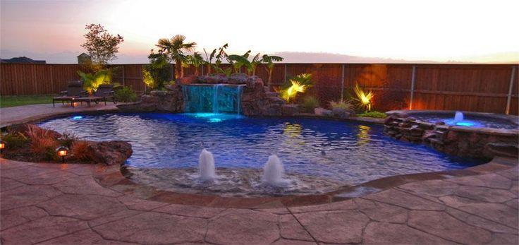 17 best ideas about lagoon pool on pinterest zero entry for Design pool klein