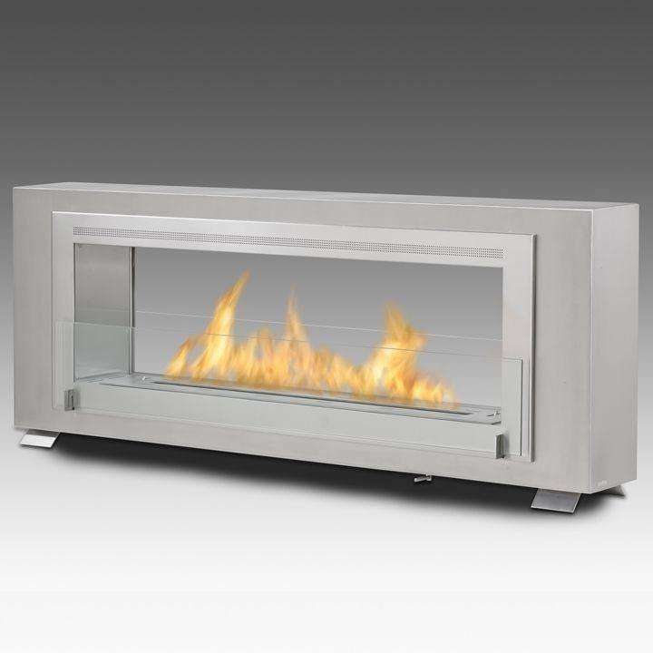 Eco Feu Santa Cruz 2 Sided Biofuel Fireplace Ethanol Fireplace