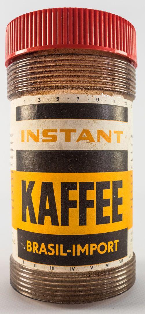 """DDR Museum - Museum: Objektdatenbank - """"Kaffee Brasil-Import"""" Copyright: DDR Museum, Berlin. Eine kommerzielle Nutzung des Bildes ist nicht erlaubt, but feel free to repin it!"""