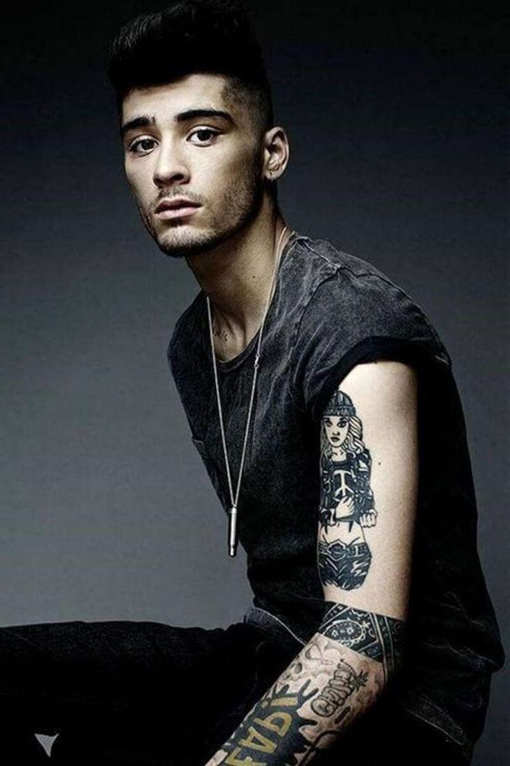 zayn malik tattoo | Zayn Malik Tattoo List - Ink and ...