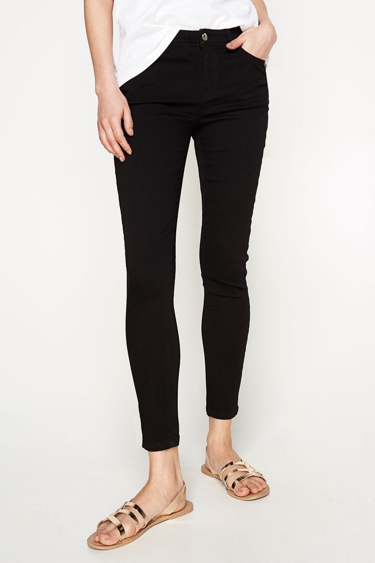 Pantalón Denim Cropped | Jeans | Springfield