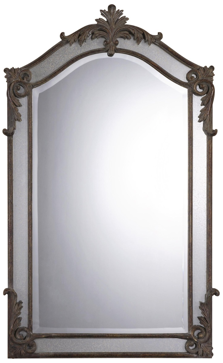 94 best mirror frames images on pinterest framed mirrors antique style 48 high metal frame wall mirror lampsplus amipublicfo Choice Image