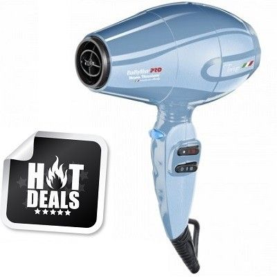 BaByliss Pro Nano Titanium Torino 6100 Dryer - Blue #BABNTB6160N $69.95  FREE SHIPPING Visit www.BarberSalon.com One stop shopping for Professional Barber Supplies, Salon Supplies, Hair & Wigs, Professional Products. GUARANTEE LOW PRICES!!! #barbersupply #barbersupplies #salonsupply #salonsupplies #beautysupply #beautysupplies #hair #wig #deal #promotion #sale #babylisspro #nano #titanium #torino #6100 #blue #dryer #babntb6160n #freeshipping