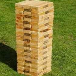 How to Make Giant Life Size Jenga Step-by-Step. @Carol Van De Maele Van De Maele Miller a project for dad!