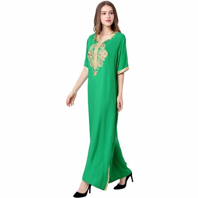 timeless design 62e81 ea91d Muslimische Frauen lange hülse langes kleid islamische ...