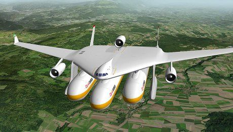 All new concept that can turn the future of air travel