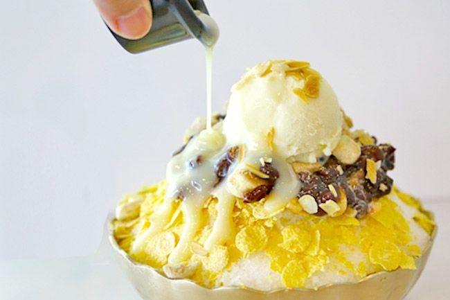 Patbingsu, a Healthy Korean Dessert for Summer