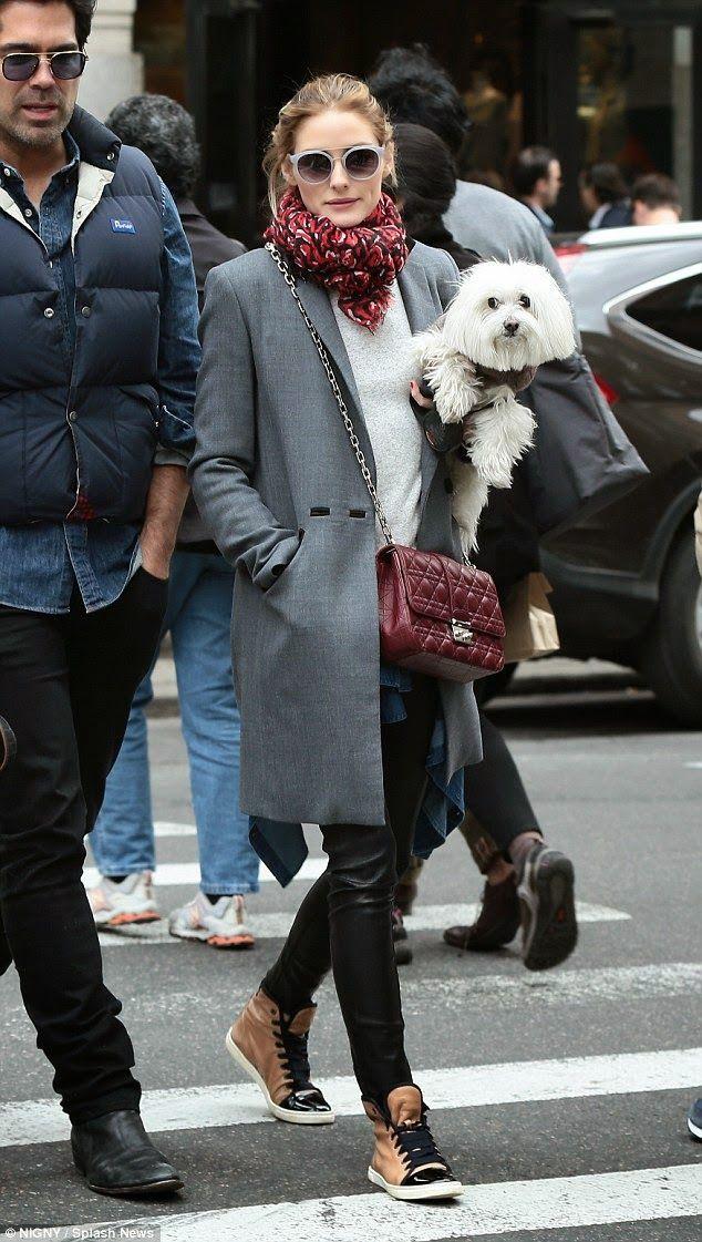The Olivia Palermo Lookbook : Olivia Palermo in NY.