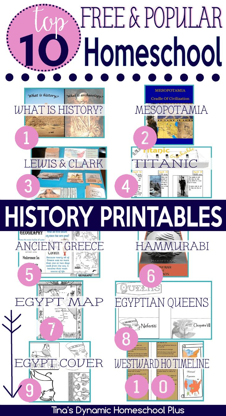 Top 10 Popular Free History Printables.Today, I wanted to share with you what my readers love here when it comes to history printables. Be sure you have grabbed all of these top 10 free popular homeschool history printables.Be sure you grab them over @ Tina's Dynamic Homeschool Plus #activities