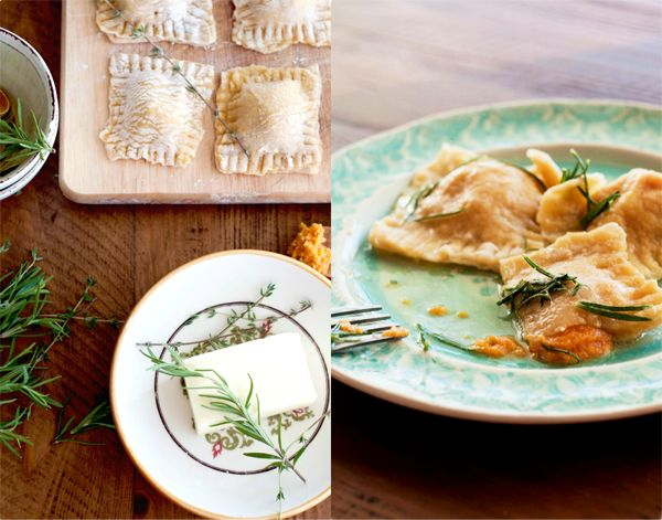 Eat Yourself Skinny!: Pumpkin Ravioli