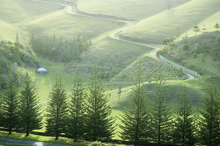 Watermill Valley - Norfolk Island , Australia