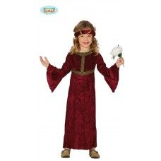 Costume da dama medievale rossa http://festematte.it/index.php?route=product/product&path=59_68&product_id=66