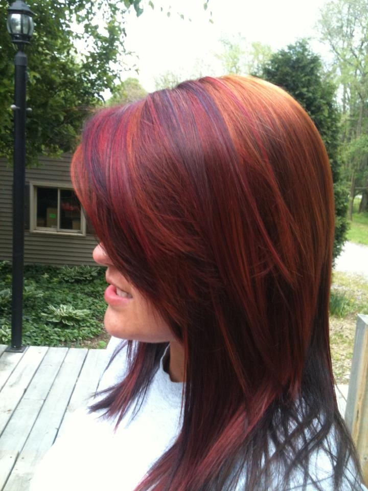 Kenra Color 4rr 6r And Red Booster Beautiful Shine And
