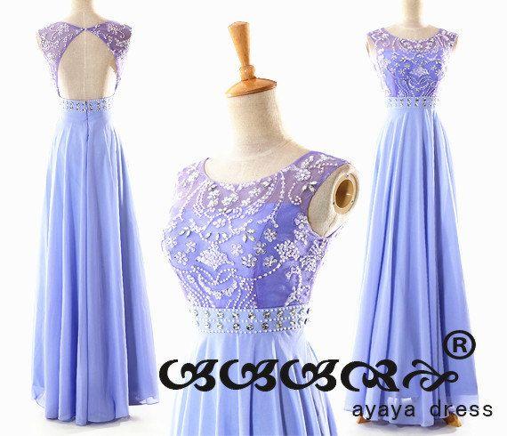 A-line Floor Length long prom Dress,chiffon prom Dress , bridesmaid dress,cheap prom dress.wedding dress,evening dress,party dress2015,