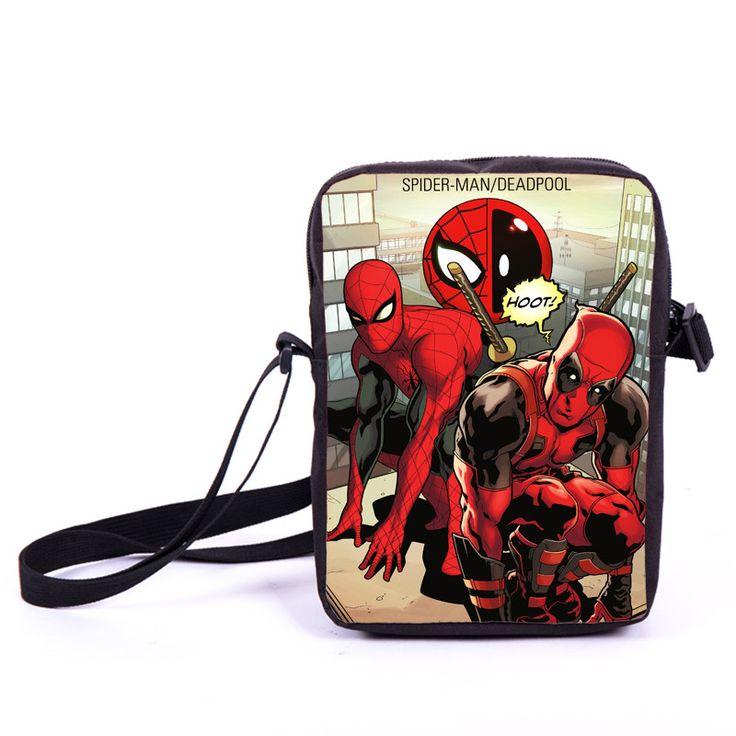 $8.30 (Buy here: https://alitems.com/g/1e8d114494ebda23ff8b16525dc3e8/?i=5&ulp=https%3A%2F%2Fwww.aliexpress.com%2Fitem%2FComics-Spiderman-Messenger-Bag-Spider-Man-Boys-Gilrs-Shoulder-Bag-Children-School-bags-Women-Handbags-Deadpool%2F32691522132.html ) Comics Spiderman Messenger Bag Spider Man Boys Girls Shoulder Bag Children School bags Women Handbags Deadpool Mini Cross Bags for just $8.30