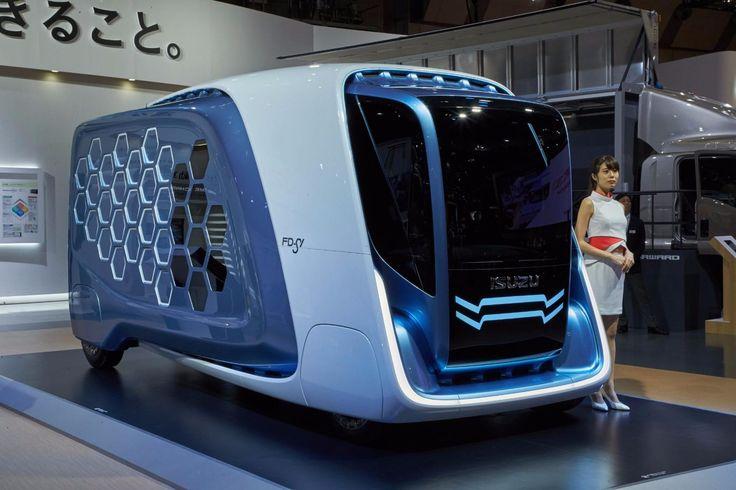 Isuzu Design Concept FD-SI (Future Delivery Swarm Intelligence)
