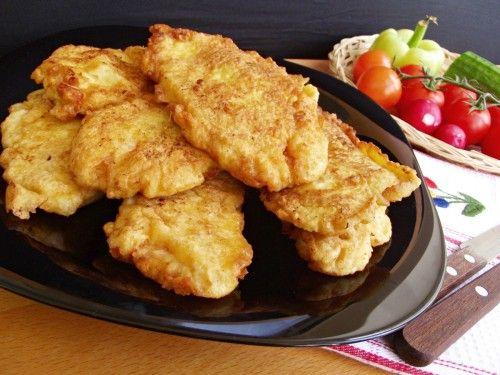 Mustáros rántott csirkemell