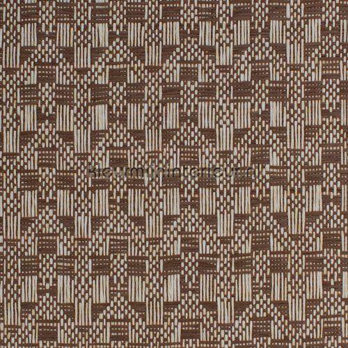 Etnisch zigzag weefsel behang, uit de collectie Natuurlijke Weefsels van Kleurmijninterieur, voordeling bij kleurmijninterieur