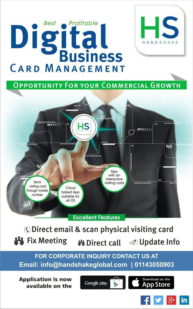 113 best Digital Business Card images on Pinterest   Business ...