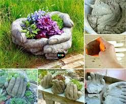 Resultado de imagen para cosas hechas con cemento