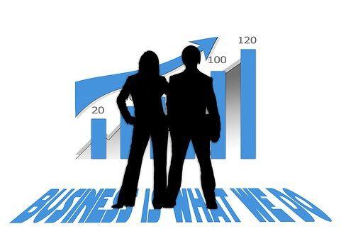 Growth Suit Work Bank Economy Business Interruption