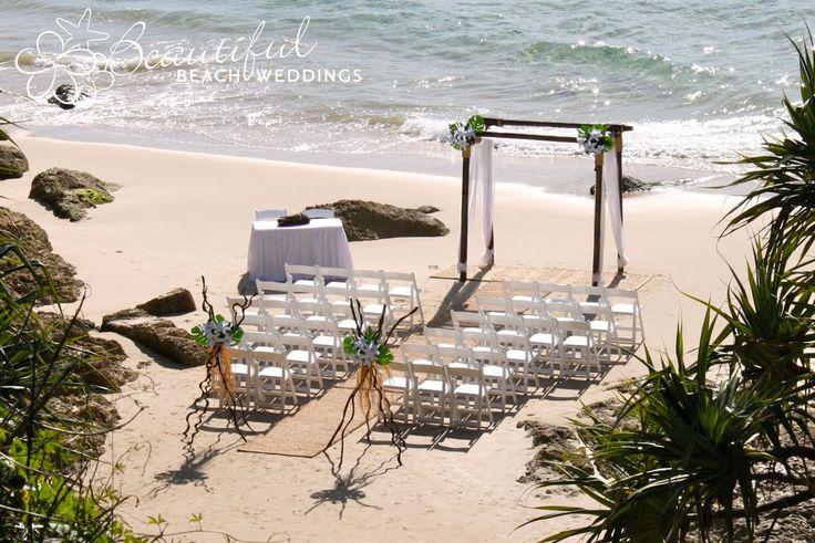 Beach Wedding - Pub Cove, Stradbroke Island