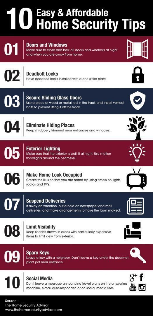 Home Security System - Take A Look At These Helpful Home Security Tips *** Continue with the details at the image link. #HomeSecuritySystem