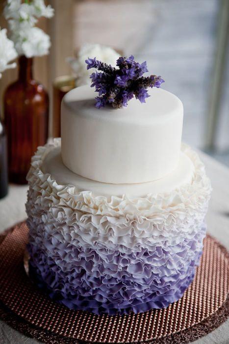 Gorgeous!Purple Wedding Cake, Colors, Cake Ideas, Ruffle Cake, Ombre Cake, Lavender Wedding, Wedding Cakes, Ruffles Cake, Purple Cake