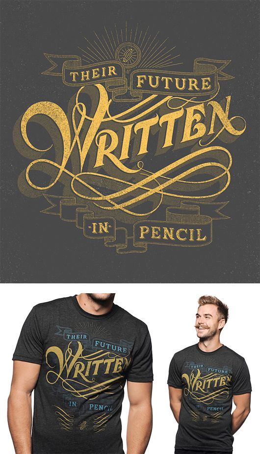 T-shirt: Graphics Illustration Fonts, Hands Written, Hands Drawn Typography, Drewmelton, Drew Melton, Types, T Shirts, Design, Banners