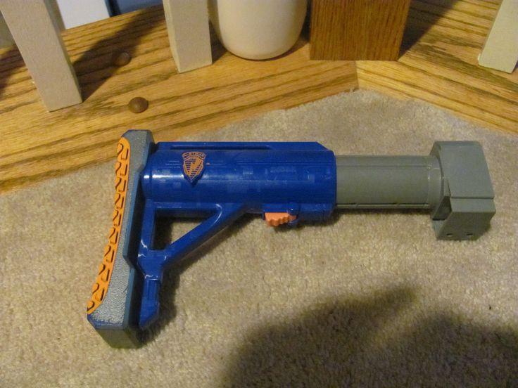 NERF N-STRIKE RAIDER CS-35 DART GUN SHOULDER STOCK EXTENSION PART