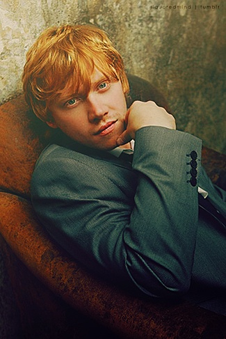 probably the only red head ill ever be attracted to.....rupert, you are the only ginger for me. lol