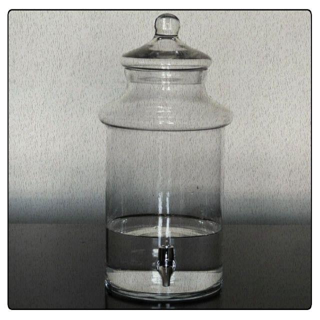 Jarro con tapa y llave de agua Código Vh01 Alto 40 cm / Diámetro 17 cm $25.000