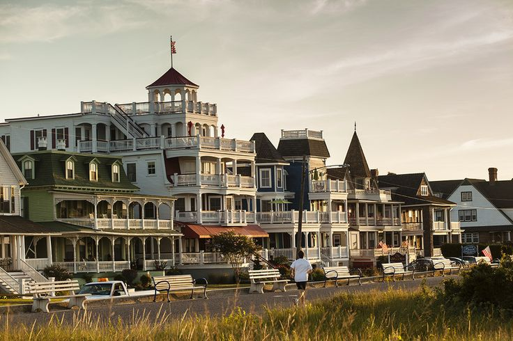 Cape May, New Jersey | 14 Tiny East Coast Towns You Have To Visit Soon:  CAPE MAY, NJ If a flashy boardwalk and plenty of people at the beach aren't necessarily your thing, venture further down the Jersey Shore to the quiet town of Cape May. This seaside town is a preserved piece of Victorian history, showcasing plenty of Victorian bed-and-breakfasts with rocking chairs and no shortage of great views — it's one Northeastern beach you don't want to miss.