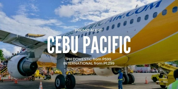 Cebu Pacific Sale – PH Flights from P599 / Int'l from P1,299 – June to September Travel  https://www.detourista.com/promo/new/cebu-pacific/  Selling date: Up to June 8, 2017 or until seats last.  Travel date: June 15, 2017 to September 30, 2017.  Destinations include Manila, Davao, Kalibo, Hong Kong, Tacloban, Singapore, Tagbilaran, Kuala Lumpur, Iloilo and 48 more places.