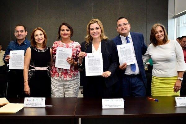 <p>Chihuahua, Chih.- El Gobierno Municipal llevó a cabo la firma del convenio de colaboración con la asociación civil Paz y Convivencia