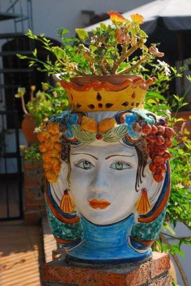 Taormina - Flower pot