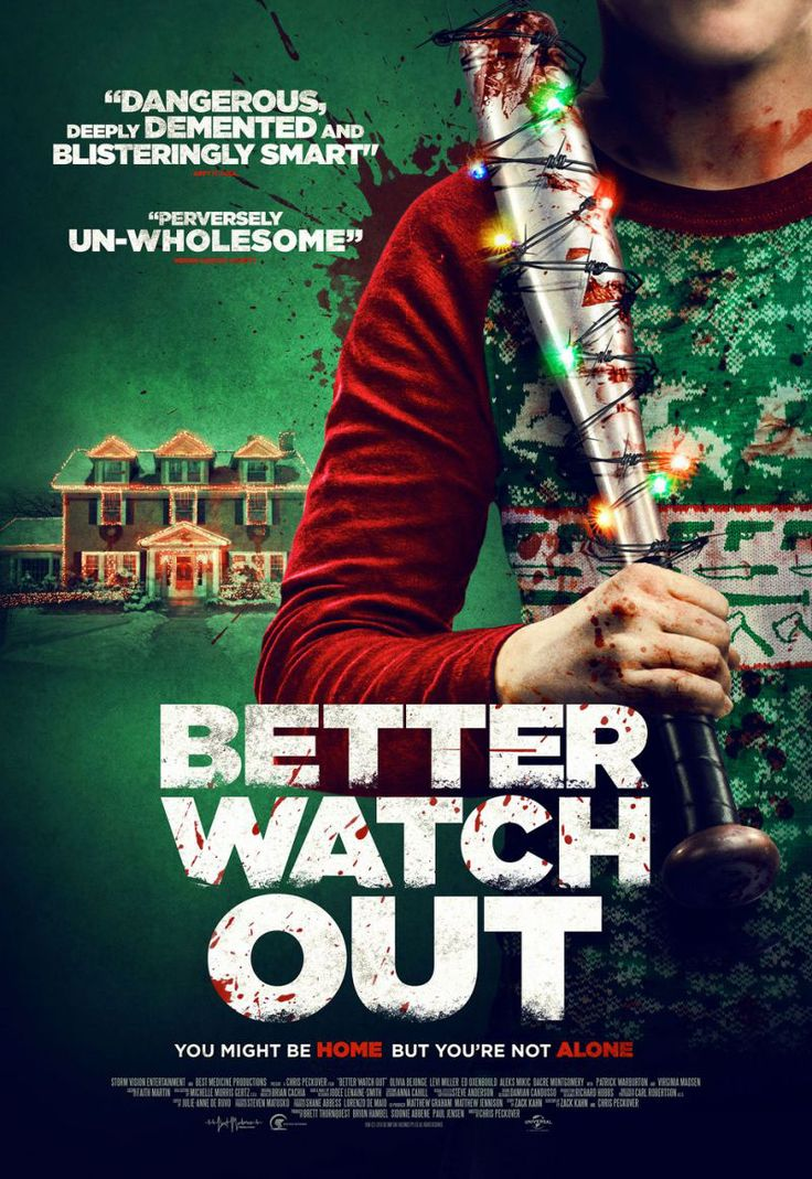 Better Watch Out - movie poster -> https://teaser-trailer.com/movie/safe-neighborhood/  #BetterWatchOut #BetterWatchOut #MoviePoster #SafeNeighborhood