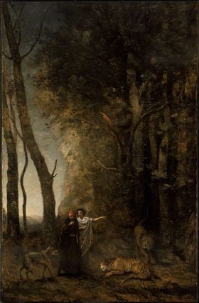 Dante and Virgil  1859  Jean-Baptiste-Camille Corot, French, 1796–1875