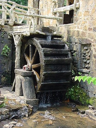 old mill water wheels | Panoramio - Photo of Old Mill Water Wheel